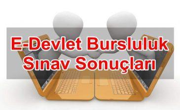 E-Devlet Bursluluk Sınav Sonuçları