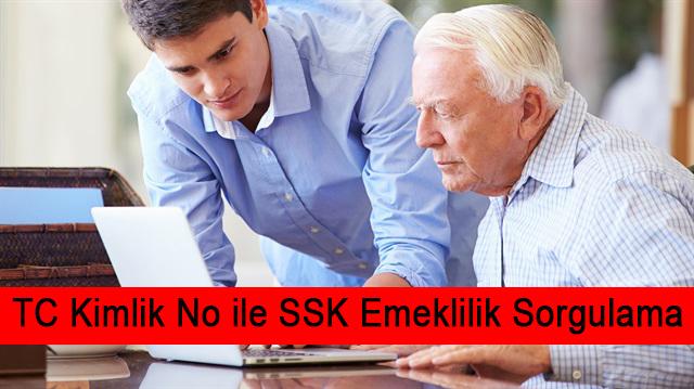 TC Kimlik No ile SSK Emeklilik Sorgulama